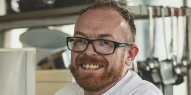 Chris Wheeler is  executive chef at Stoke Park, Buckinghamshire and Author of a new book.