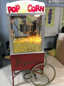 16 oz Popcorn Machine with Cart