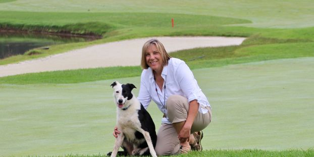 Owner Cathy Benedict. She owns Goose Rangers LLC, and Goose Dogs For Sale, both based out of VA