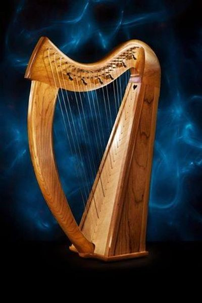 "22 String Irish/Celtic Lap Harp ""Brittany"""