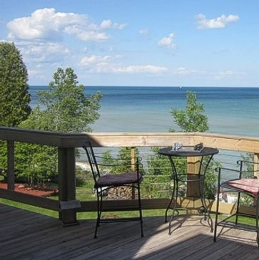 At The Waters Edge B&B, the only B&B on Lake Michigan in Algoma