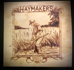 Haymakers, Wichita Kansas CD with graphic of man plowing field