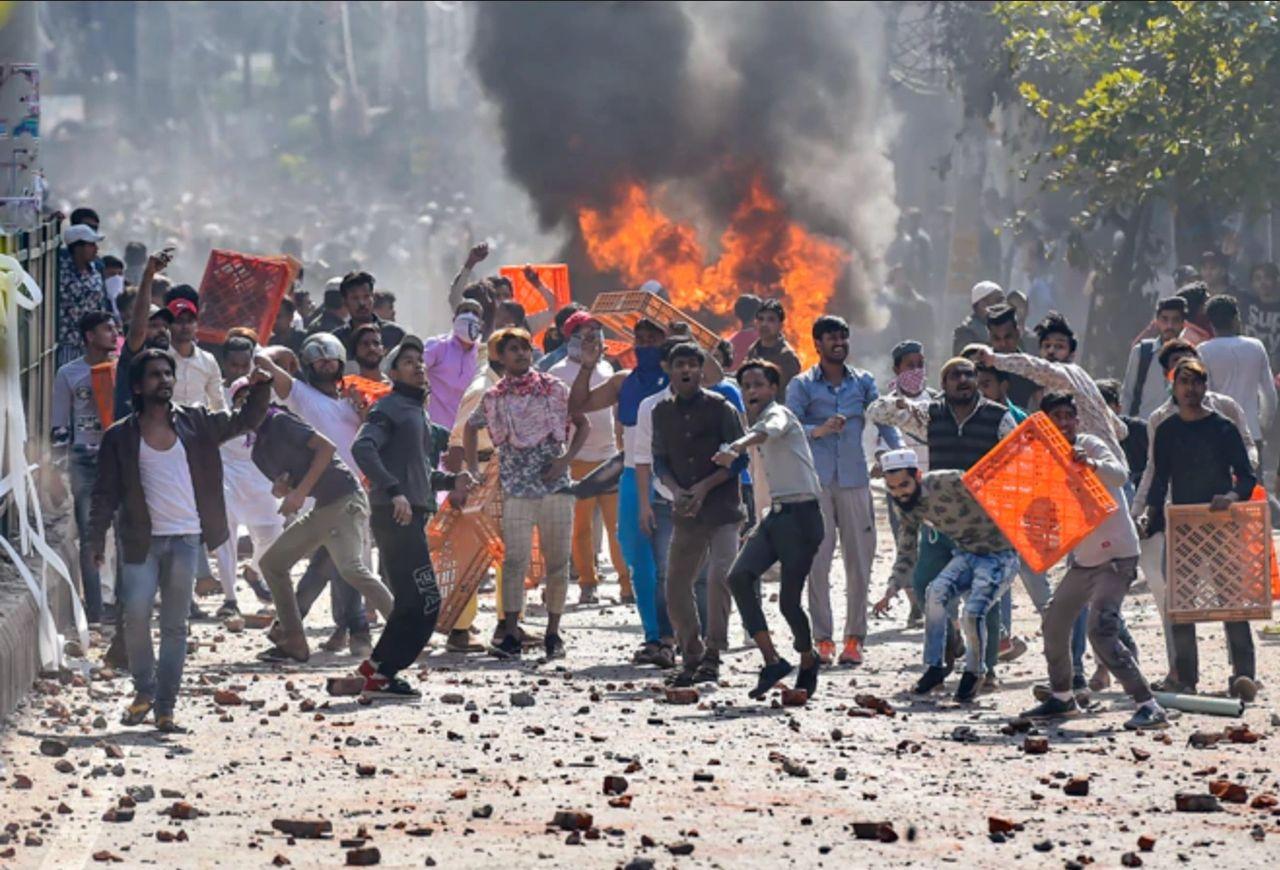 Delhi burning in anti-CAA protest swiftly turned into massive riots