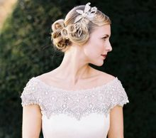 1920's vintage Finger waves a classic bridal hairstyle at Iscoyd Park  Whitchurch,