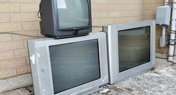 Recycled Scrap Tube CRT TV's