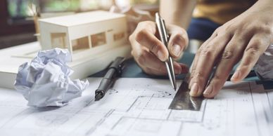 Design, Blueprints, Plans, City Permits, Beginning, Planning, Commercial, Residential, upgrades, New