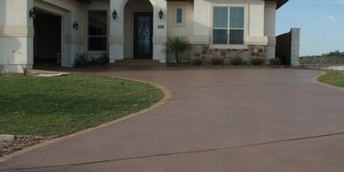 Concrete slab, Custom concrete