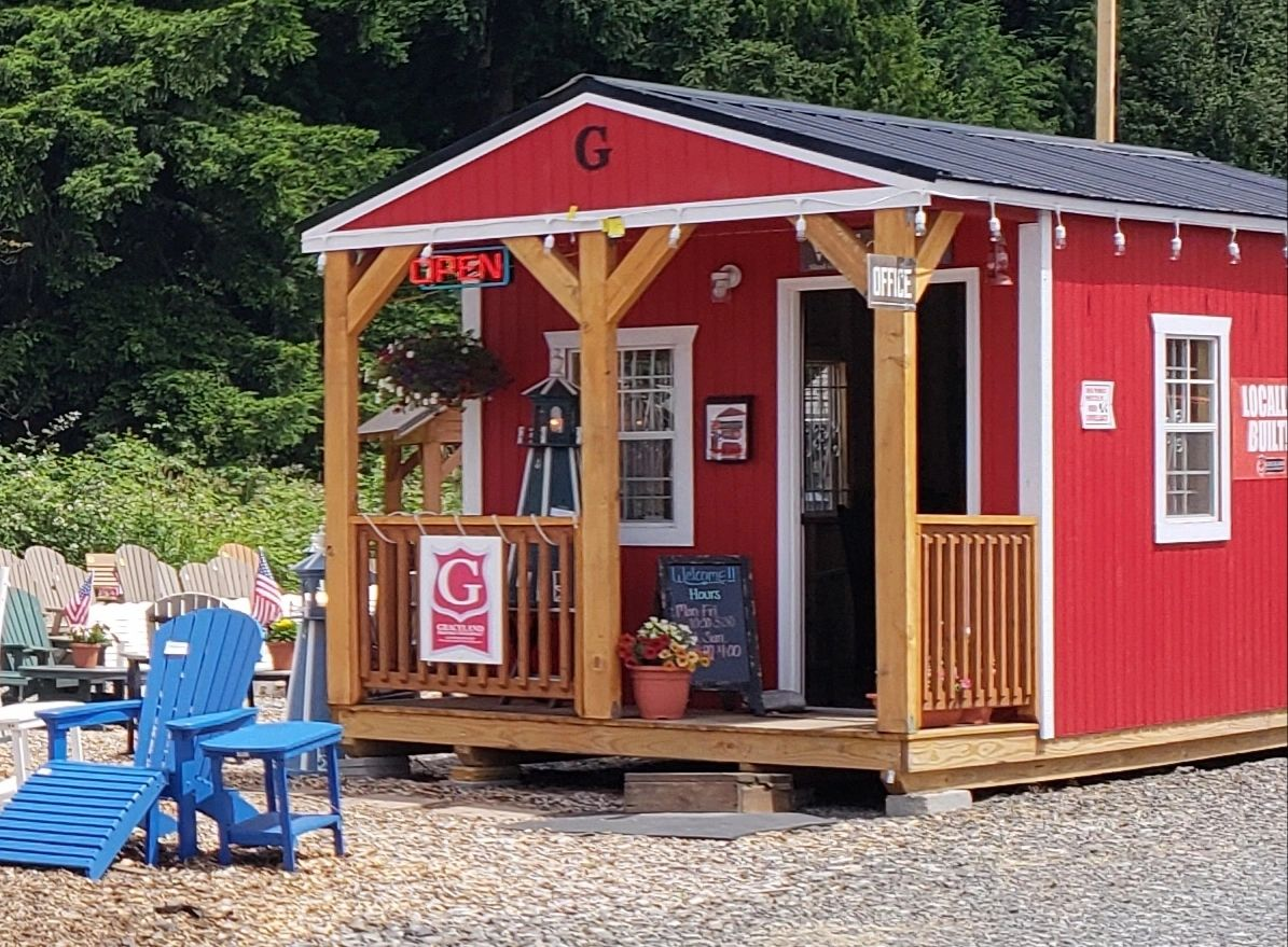"{""blocks"":[{""key"":""fm4n6"",""text"":""Come check out our beautiful office that is our 10' x 20' Cabin. Includes a 4' deep porch, nine-lite house dor, five 2' x 3' windows and our radiant heat barrier."",""type"":""unstyled"",""depth"":0,""inlineStyleRanges"":[],""entityRanges"":[],""data"":{}},{""key"":""a6lhb"",""text"":"""",""type"":""unstyled"",""depth"":0,""inlineStyleRanges"":[],""entityRanges"":[],""data"":{}},{""key"":""5l6fq"",""text"":""$6,380 plus tax"",""type"":""unstyled"",""depth"":0,""inlineStyleRanges"":[],""entityRanges"":[],""data"":{}},{""key"":""1qbks"",""text"":"""",""type"":""unstyled"",""depth"":0,""inlineStyleRanges"":[],""entityRanges"":[],""data"":{}},{""key"":""9atv5"",""text"":"""",""type"":""unstyled"",""depth"":0,""inlineStyleRanges"":[],""entityRanges"":[],""data"":{}}],""entityMap"":{}}"