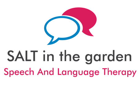 Speech And Language Therapy  in the garden