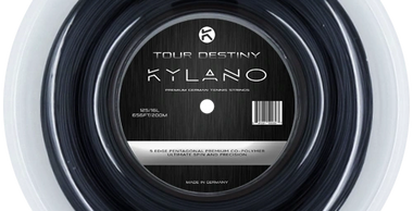 Kylano Tour Destiny Black Tennis Strings