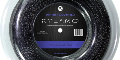 Kylano Whirlwind Twisted Black Tennis Strings