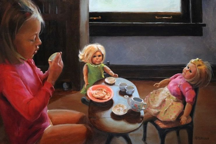 Tea Party, Oil