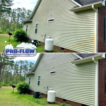 House Washing and Rust Removal - Pro Flow Exterior Cleaning and Power Washing
