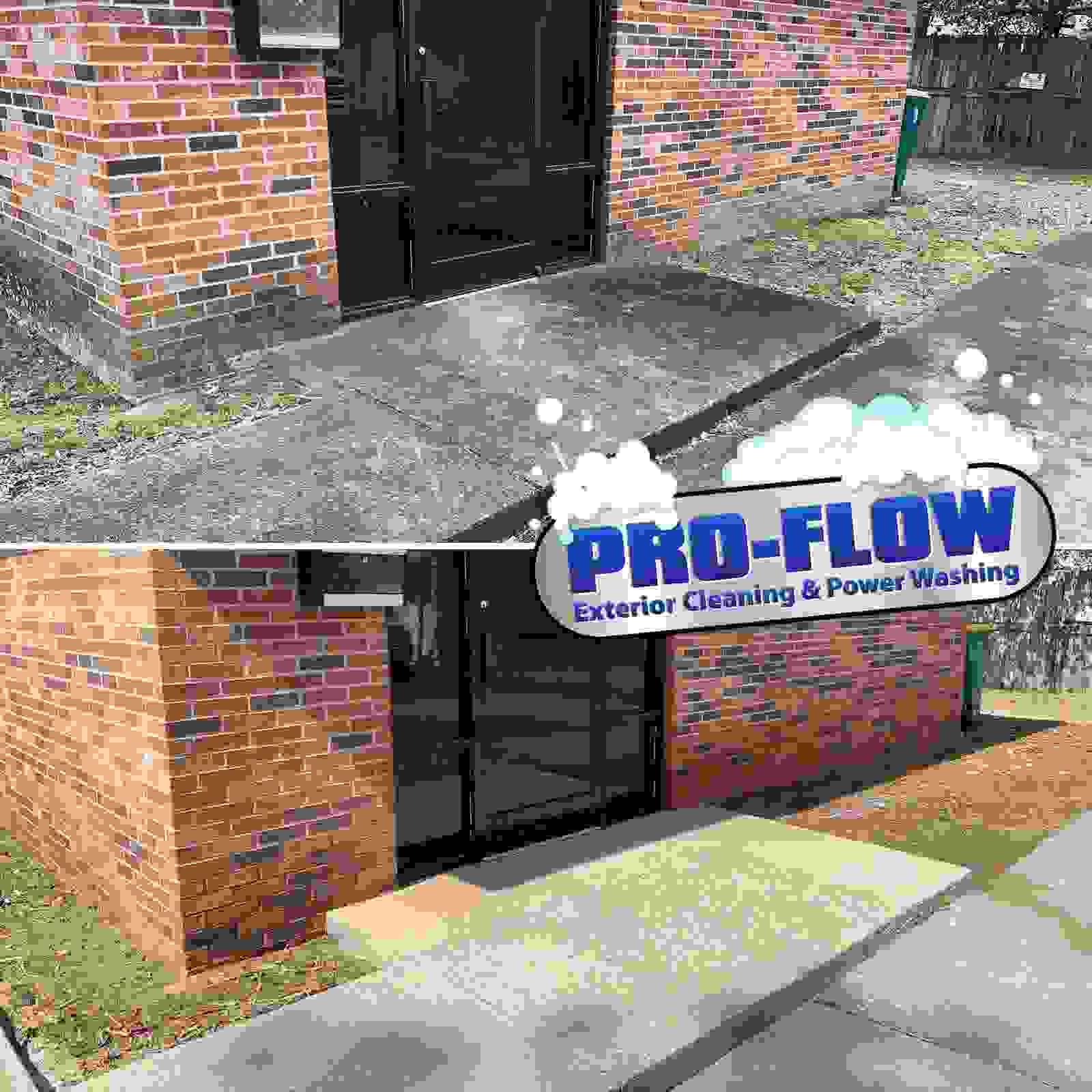 Commercial Concrete Cleaning - Pro Flow Exterior Cleaning