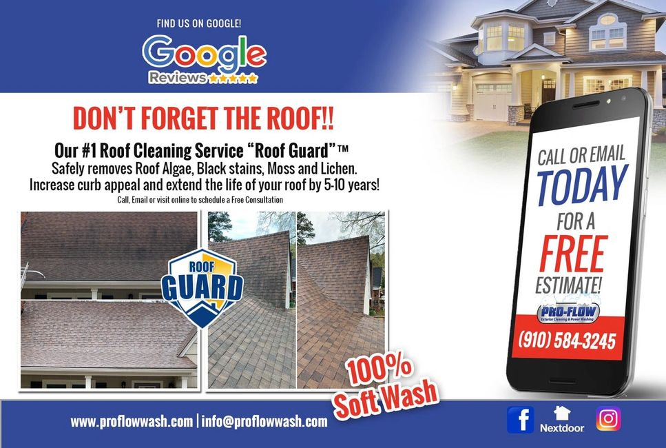 Roof Cleaning #RoofGuard