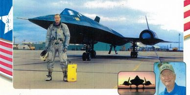 - Chief test pilot and first to fly the SR-71 Blackbird, 1964