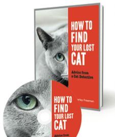 How to Find Your Lost Cat book