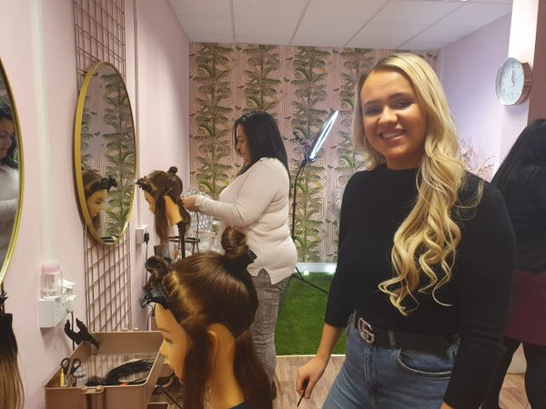 Hair Extension Course at Architect Hair Extension Academy