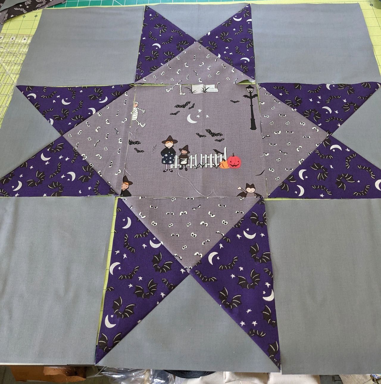 quilt block assembly
