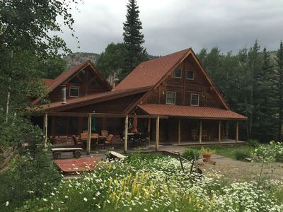 Old Carson Cabin, vacation rental, located on the Alpine Loop in Lake City, Colorado.