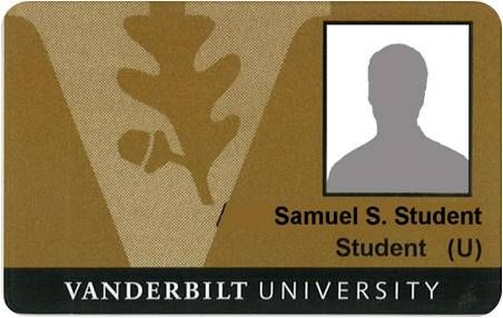 Accepting Vanderbilt University Commodore Student Card