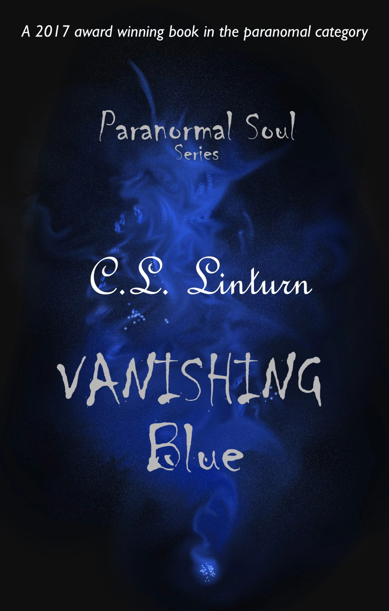 Book cover for Vanishing blue