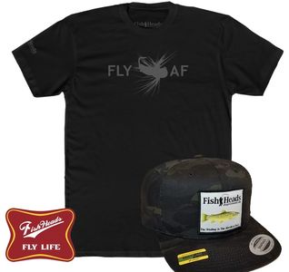 Custom Trucker Hats for Fly Fishing from FishHeads at shopfishheads.com