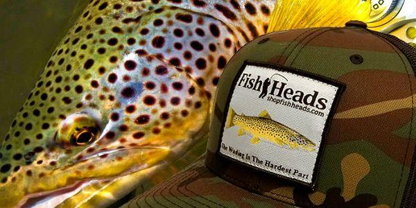 FishHeads Brown Trout Hat