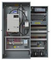 PLC based traction elevator controller for Geared or Gearless DC systems by Virginia Controls VCI