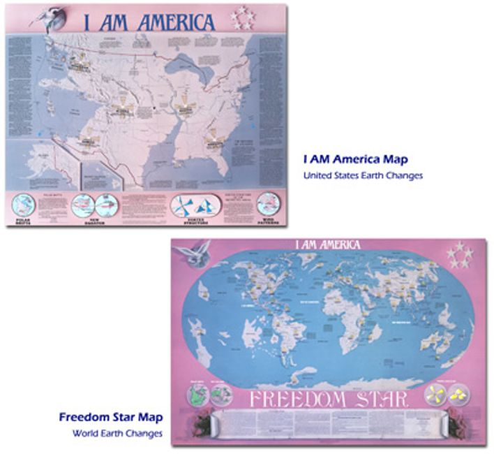 I AM America Earth Changes Maps