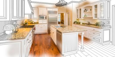 kitchen design and remodeling, custom remodeling