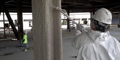 industrial construction port arthur texas scaffolding insulation paint fireproof abatement tracing