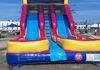 20' Double Lane Slide 17'W X 33' L 20' H Two separate power outlets required