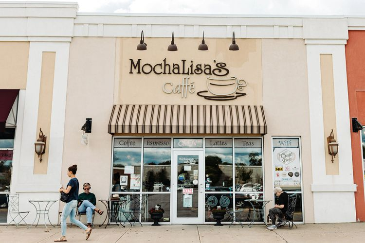 Mocha Lisa's Caffe store front