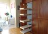 Narrow Pantry Pull Out Shelf Conversion