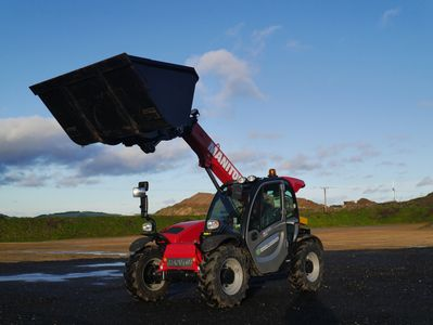 Manitou telehandler contract hire at Greenhandlers UK