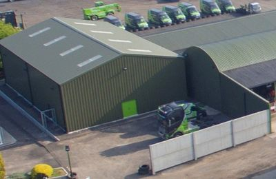 Green Handlers UK Spare Parts Distribution Hub