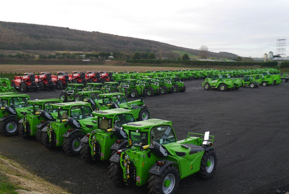 Merlo and Manitou Telehandlers available for contract hire at Greenhandlers UK