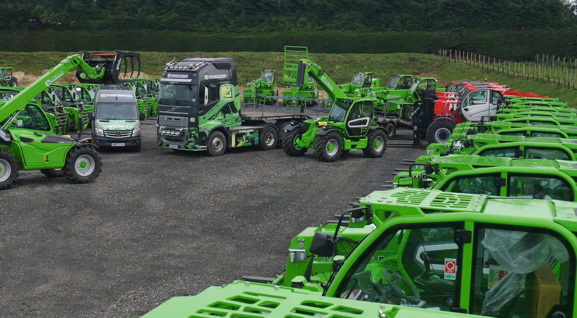 Green Handlers Uk Telehandler contract hire specialists for Merlo and Manitou Telehandlers
