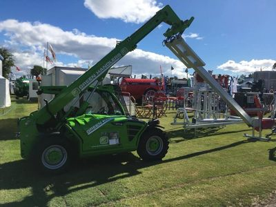 Merlo Telehandler available for contract hire at Greenhandlers UK