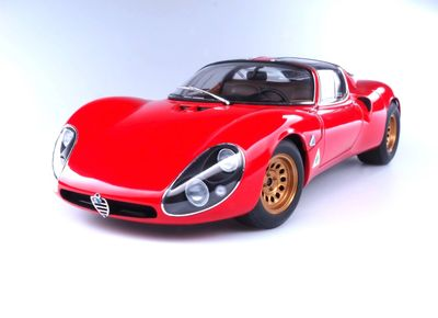 Best of Show winning 1967 Alfa Romeo 33 Stradale Prototipo owned by Sean Zeeck