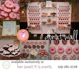 Donut Wall offered by: How Sweet It Is Events