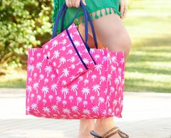 Palm Tree Print Tote Bag and Wristlet Palm Tree Summer Bag Tote Bag for women