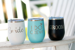 I do Crew Wedding party gifts Bridesmaid gifts Groomsman gifts