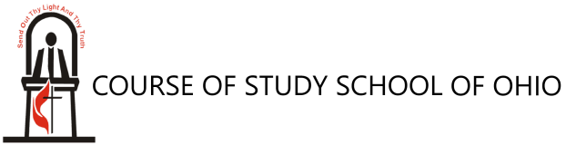 Course of Study School of Ohio