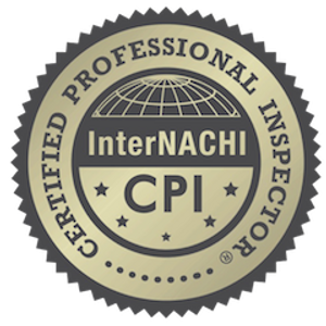 Logo of the InterNACHI Certified Professional Inspector.