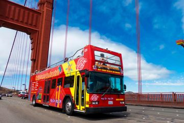 san francisco hop on hop off bus tour