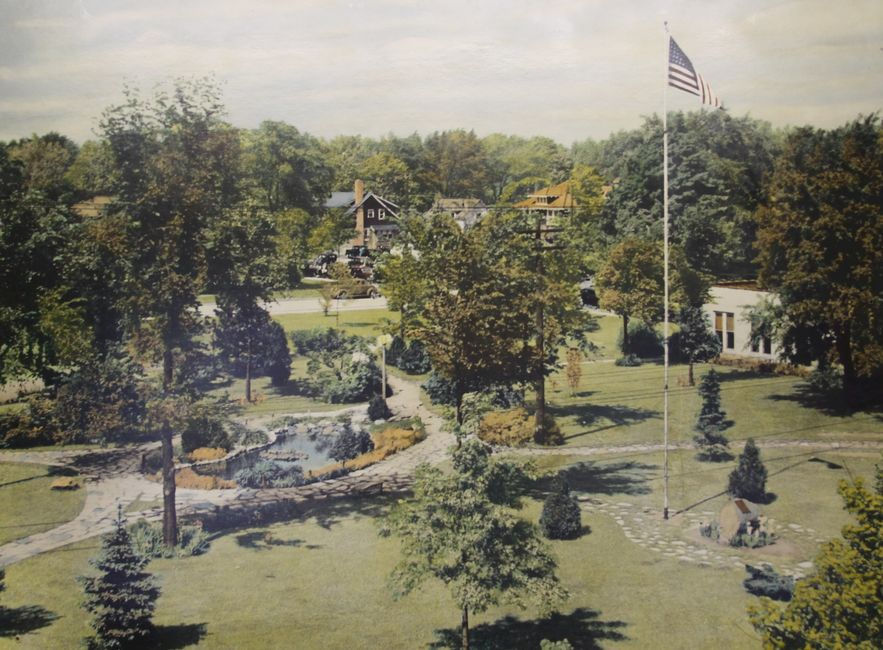 1938 Photo of the Royal Oak City Park interpreted by John (Jack) Guirey.