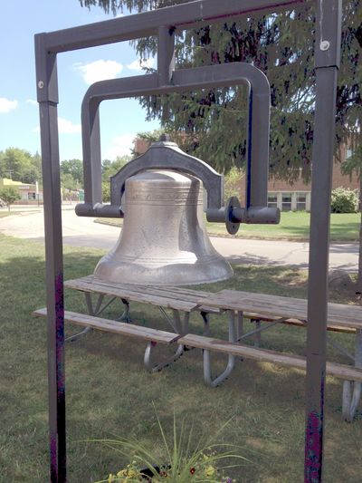 Union School Bell at the Royal Oak Historical Society Museum
