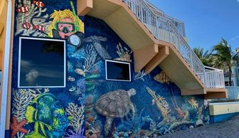 Stoked On Salt Windjammer Resort Mural